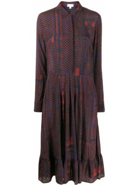 Sukienka z kołnierzem z długim rękawem Lala Berlin