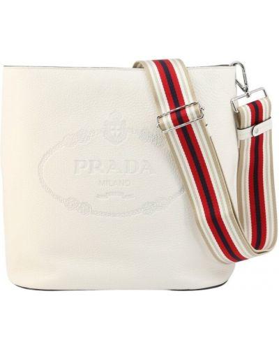 Biała włoska torebka Prada