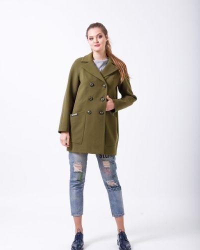Прямое пальто с рукавом реглан Sergio Cotti