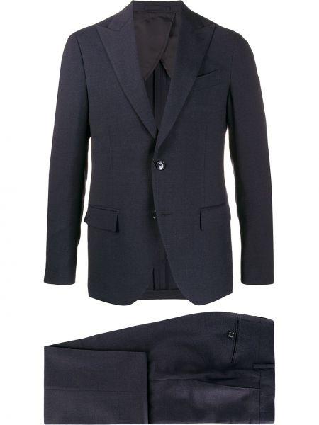 Garnitur kostium wełniany Dell'oglio