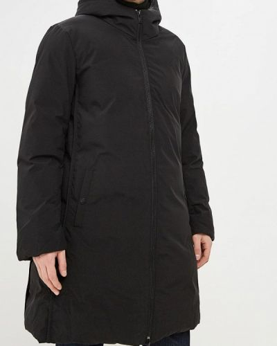 Зимняя куртка утепленная черная Papermint