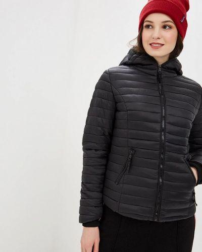 Утепленная куртка демисезонная черная Navahoo