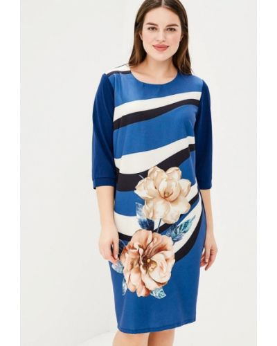 Синее платье Fresh Cotton