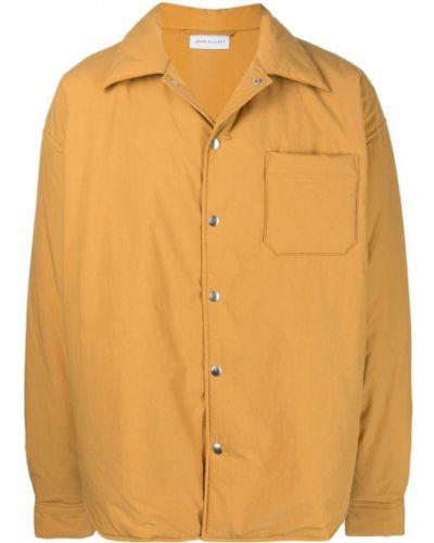 Podkoszulka z długimi rękawami - żółta John Elliott