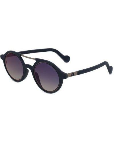 Солнцезащитные очки с градиентом круглые Moncler