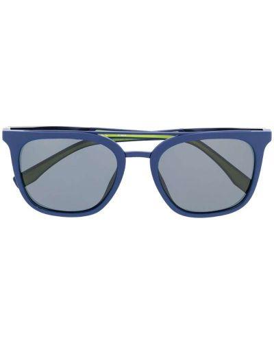 Солнцезащитные очки синий с логотипом Fila
