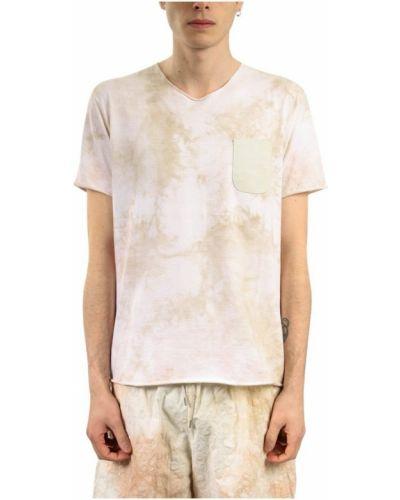 Beżowy t-shirt Giorgio Brato