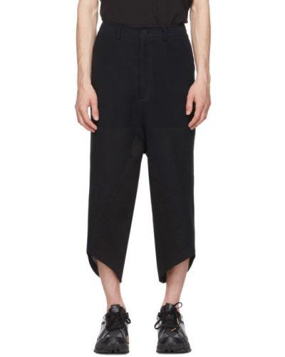 Spodnie z paskiem bawełniane Blackmerle