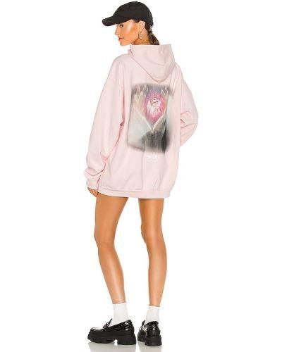 Różowa bluza kangurka bawełniana szkolna Boys Lie