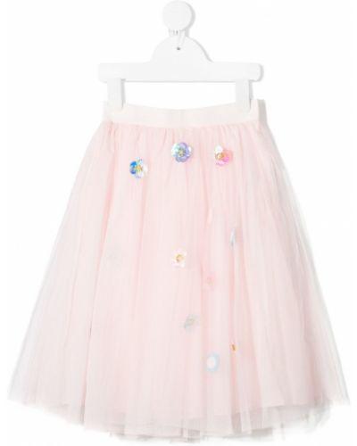 Różowa spódnica tiulowa Charabia