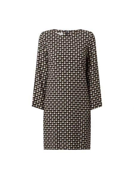 Sukienka z długimi rękawami - czarna Cinque