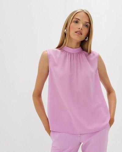 Блузка без рукавов розовая French Connection