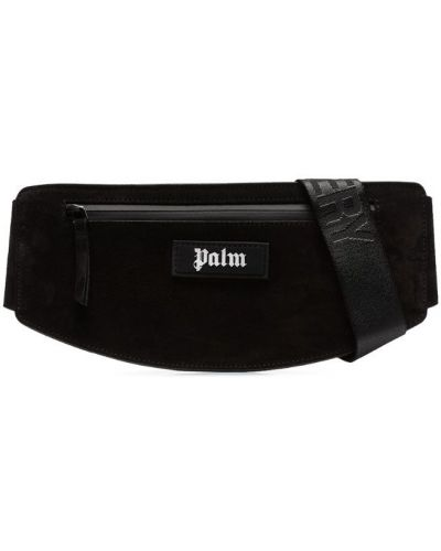 Поясная сумка черная Palm Angels