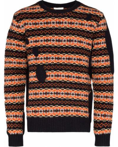 Оранжевый свитер Lou Dalton