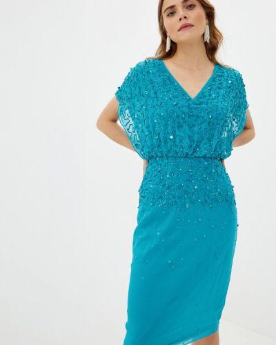 Вечернее платье бирюзовый индийский Dorothy Perkins