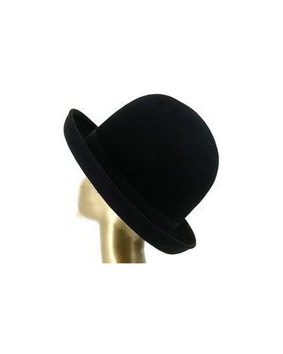 Черная шляпа шерстяная Emporio Armani