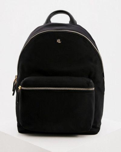Нейлоновый черный рюкзак Lauren Ralph Lauren