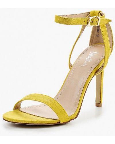 Желтые босоножки Vera Blum