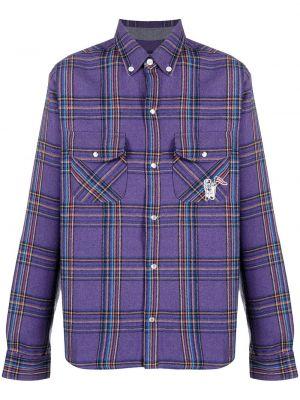 С рукавами классическая рубашка в клетку с воротником Billionaire Boys Club