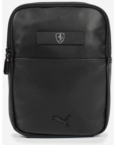 Кожаная сумка - черная Puma