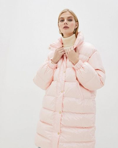 Розовый пуховик Chiara Ferragni Collection