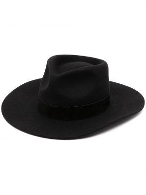 Czarny kapelusz wełniany Lack Of Color