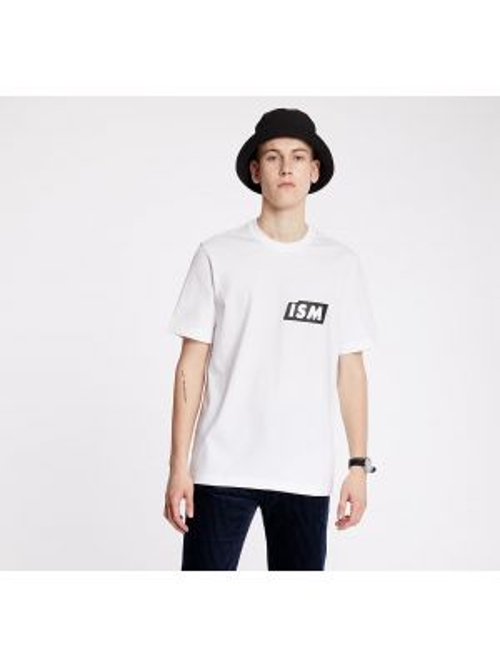 Белая рубашка Lacoste