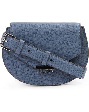 Кожаная сумка поясная на цепочке Hugo Boss