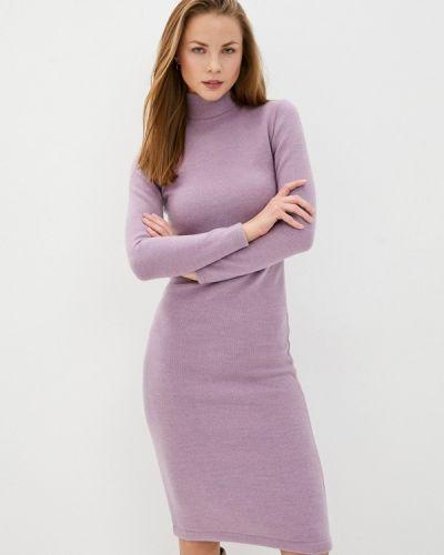 Фиолетовое вязаное платье Toryz
