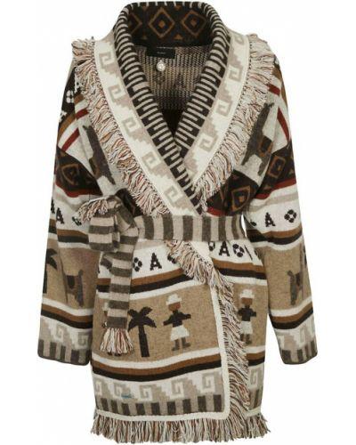 Brązowy sweter Alanui