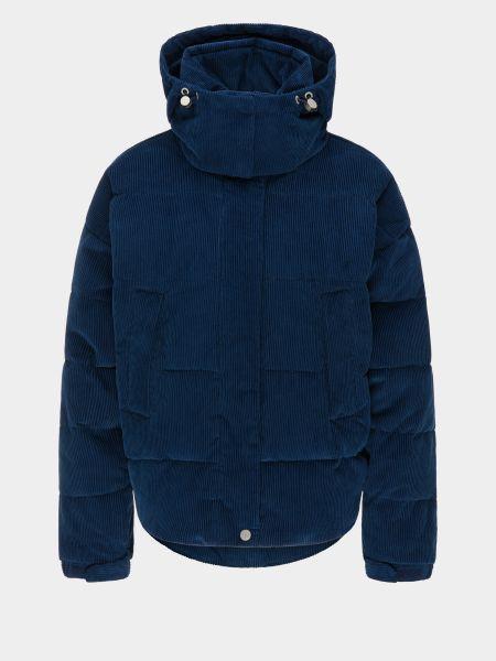 Дутая куртка вельветовая с капюшоном с воротником Lee