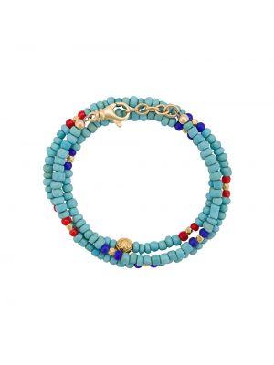 Bransoletka duży niebieski Nialaya Jewelry