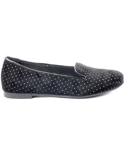 Туфли черные велюровый Patrizia Pepe