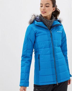 Горнолыжная куртка осенняя синий Columbia
