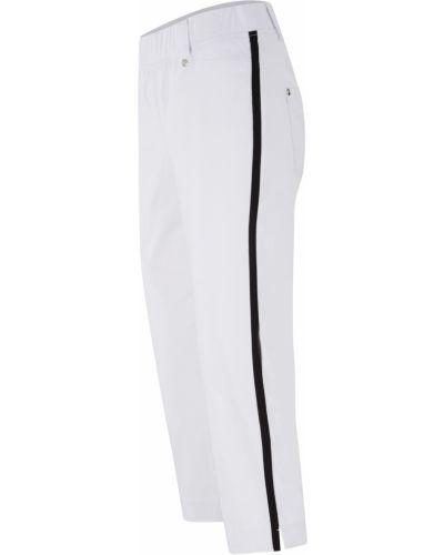 Белые бермуды Bonprix