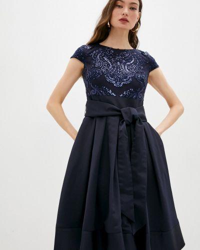 Вечернее платье - синее Lauren Ralph Lauren
