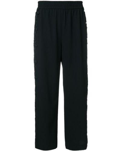 укороченные брюки  с кружевной отделкой Alice+olivia