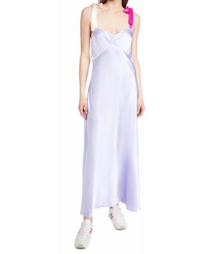 Sukienka z jedwabiu Dannijo