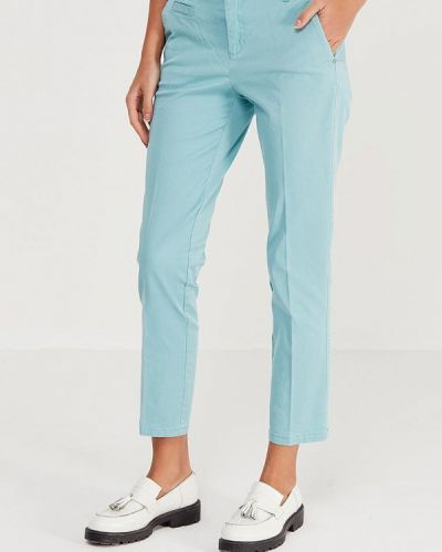 Бирюзовые брюки United Colors Of Benetton