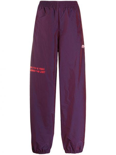 Спортивные брюки из полиэстера - фиолетовые Adidas Originals By Alexander Wang