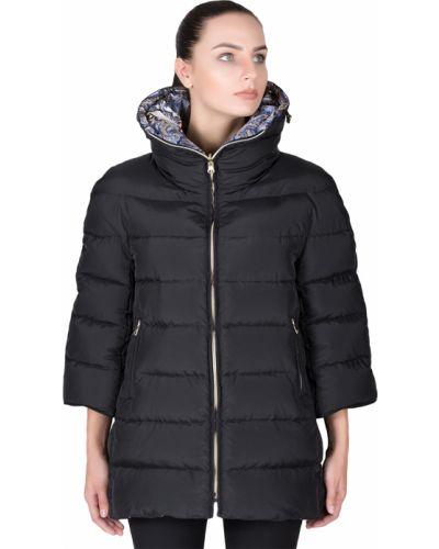 Куртка осенняя черная Tsarevna