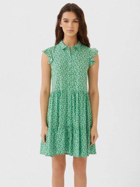 Платье платье-рубашка весеннее Stradivarius