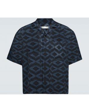 Черная рубашка с воротником на пуговицах Cmmn Swdn