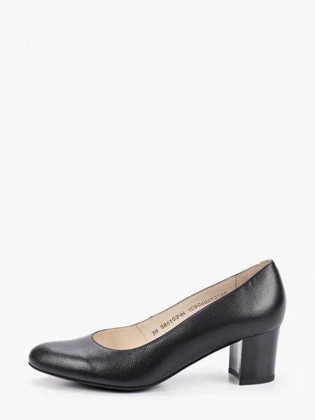 Кожаные туфли черные осенние Ralf Ringer