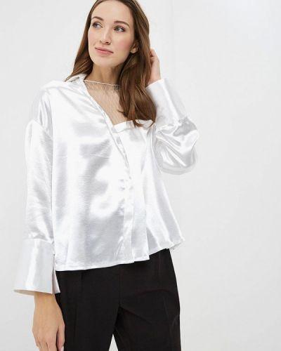 Блузка с длинным рукавом белая Paccio
