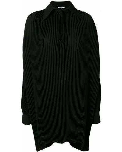 Рубашка с длинным рукавом оверсайз плиссированная Krizia