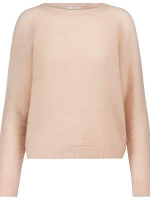 Розовый кашемировый свитер Max Mara
