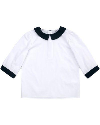 Блуза свободного кроя с воротником School By Playtoday