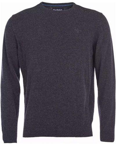 Sweter - niebieski Barbour