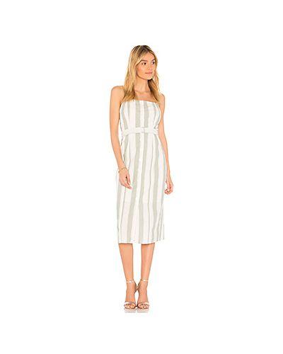 Платье миди с поясом на пуговицах The Fifth Label